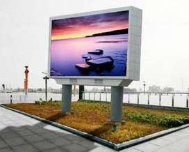 Video presentation on LED SMD screen with pixel P6