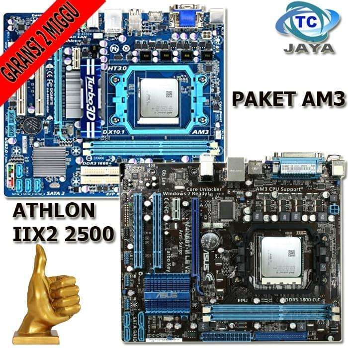 Motherboard Onboard AM3 Dengan Processor Athlon llx2 2500 0