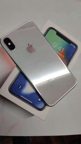 iPhone X 64 GB, GOOD CONDITION, FULL KIT WITH BILL & BOX, FIXED PRICE