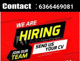 Back office,Telecaller, Voice process,Office assistant