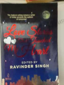 Ravinder Singh novel - set of 3