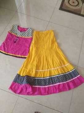 Baju india lehengga anak