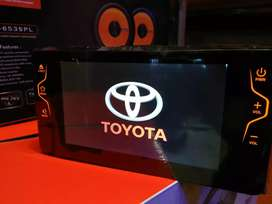 Head unit Toyota Rush/ kijang inova ( stering well )