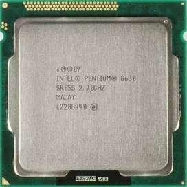 Intel Pentium G630 Dual-Core SR05S 2.7 GHz LGA 1155 CPU Processor