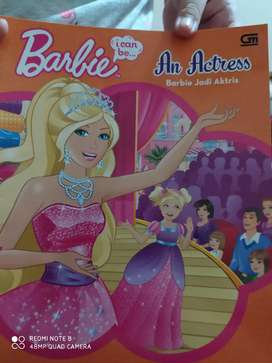 Buku Barbie an actress (bhsa Indonesia) new