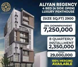 ALIYAN REGENCY LUXURY PENTHOUSE AVAILABLE ON OUTSTANDING LOCATION