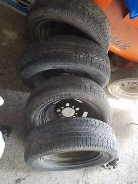 """Jeep 16"""" rims tyres for sale"""