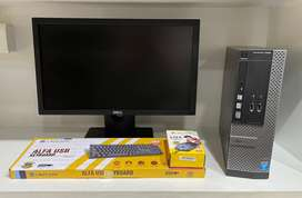 """DELL i3 4th Desktop with 20"""" DELL FHD LED - 1 YEAR WARRANTY"""