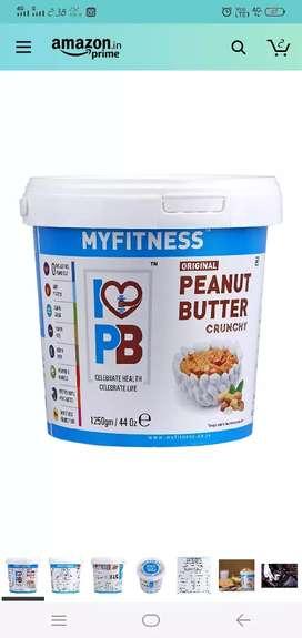 My fitness peanut butter Crunchy.Chocolat