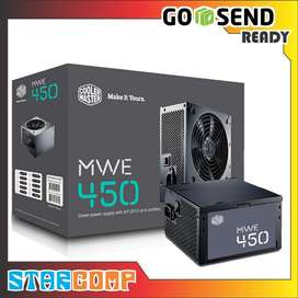 Power Supply COOLER MASTER 450W MWE 80 Plus