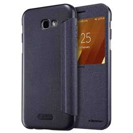AyooDropship - Nillkin Sparkle Window Case for Samsung Galaxy A7 2017