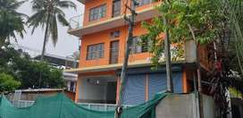 1300 sq ft Godown cum office space near M G Road,at Thevara