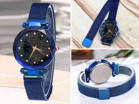 LUXARY MAGNECTIC WATERPROOF FANCY AND CAUSAL WATCH