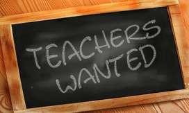 Need experienced teacher