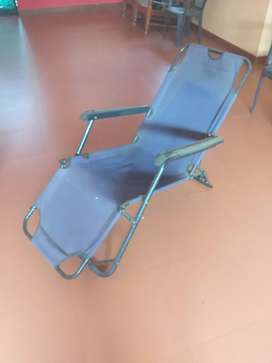 Arm chair foldable & stretchable- steel