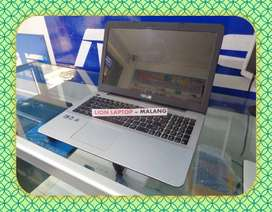 Laptop Bekas Asus X555DA AMD A10-8700P 3,2 Ghz