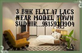 New launching flats near model town 2 bhk 37 lacs