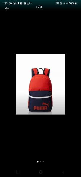 Jual rugi Tas backpack Ransel PUMA LIMITED edition BARU ORI
