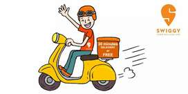 We are Hiring Swiggy delivery executives