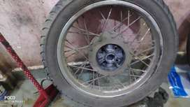 wheel with tyer for bullet