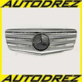 Grill Mercy E-Class W211 AMG CL Facelift Silver 2007 - 2009 Taiwan