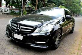 MERCY E250 COUPE AT HITAM 2013 - FLASH SALE