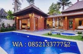 villa privat pool di ubud bulanan dan mingguan