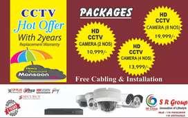 CCTV cameras and surveillance products