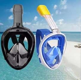 Masker full face snorkeling