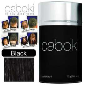 a quick and easy fix that gives the appearance of thicker, With Caboki