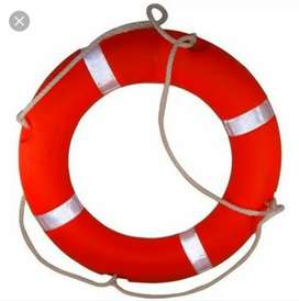 Lifebuoy Ring (LIFE SAVING EQUIPMENT). Quantity -8 Pcs ,Price 11,500/-