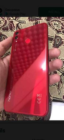 Honor 8x 4/128 red color 10/10 condition