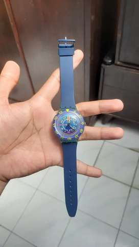 Jam tangan Swatch scuba original