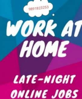Offers home based genuine work