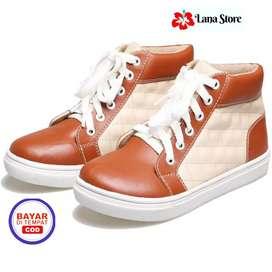 Sepatu Anak Laki-laki Casual Model Terbaru BDL 343
