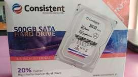 HARD DISK 500 GB 2 YEAR WARRANTY