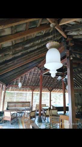 Lampu hias gantung dekorasi perumahan lawasan jawa joglo murah