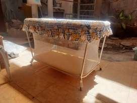 Ranjang Bayi Lipat Foldable Baby Crib Kasur Bayi Bekas Murah Mulus !!!