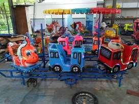 pabrik wahana mainan komedi putar kereta panggung odong MURAH 11
