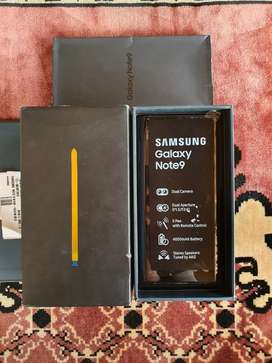 Bekas Murah Samsung Galaxy Note 9 6/128 GB Blue Like New Garansi