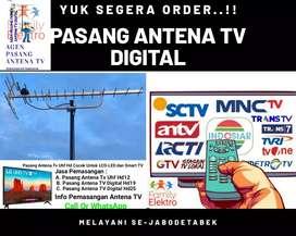 Ahli Antena Pasang Baru Antena Tv Digital Atasi Gambar Jelek