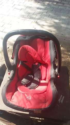 Baby car seat cum  coat--