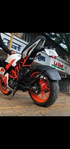 3 years remaining insurance KTM RC 200