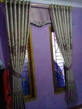 Interior gordyn kordyn hordyn cantik tangan penjahit propesional XGT