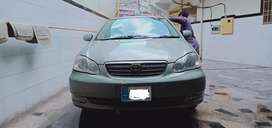 Corolla altis available for booking.