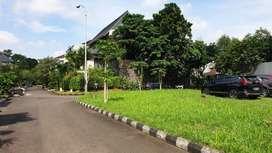 Kavling Hoek Siap Bangun di Komplek Perumahan Menteng Bintaro