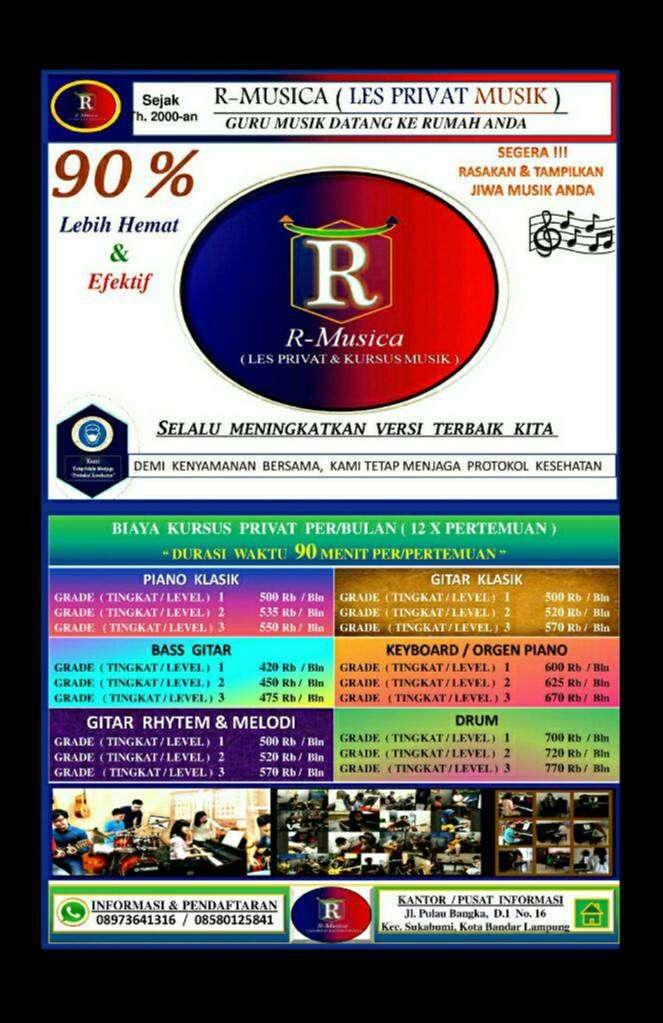 R-Musica > Les Privat Musik ( Guru Musik Datang Ke Rumah Siswa) 0