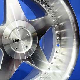 VS H1929 VELG RACING HSR LINGKARAN-17x8,5/9,5 H10 SILVER
