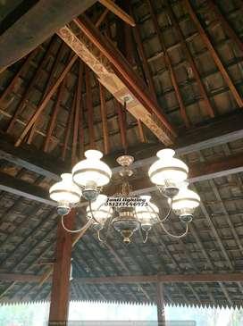 lammpu gantung hias klasik antik repro lampu joglo lampu jawa repro