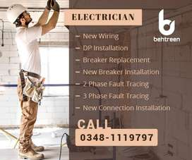 Electrician, Plumber, Painter, Carpenter and Upholstery